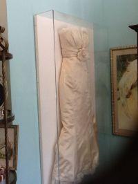 Wedding dress shadow box | The Big Day
