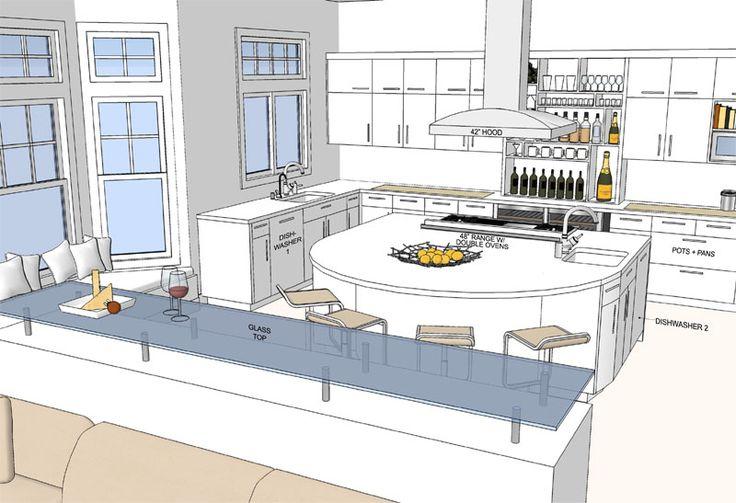 Dream Kitchen Floor Plans