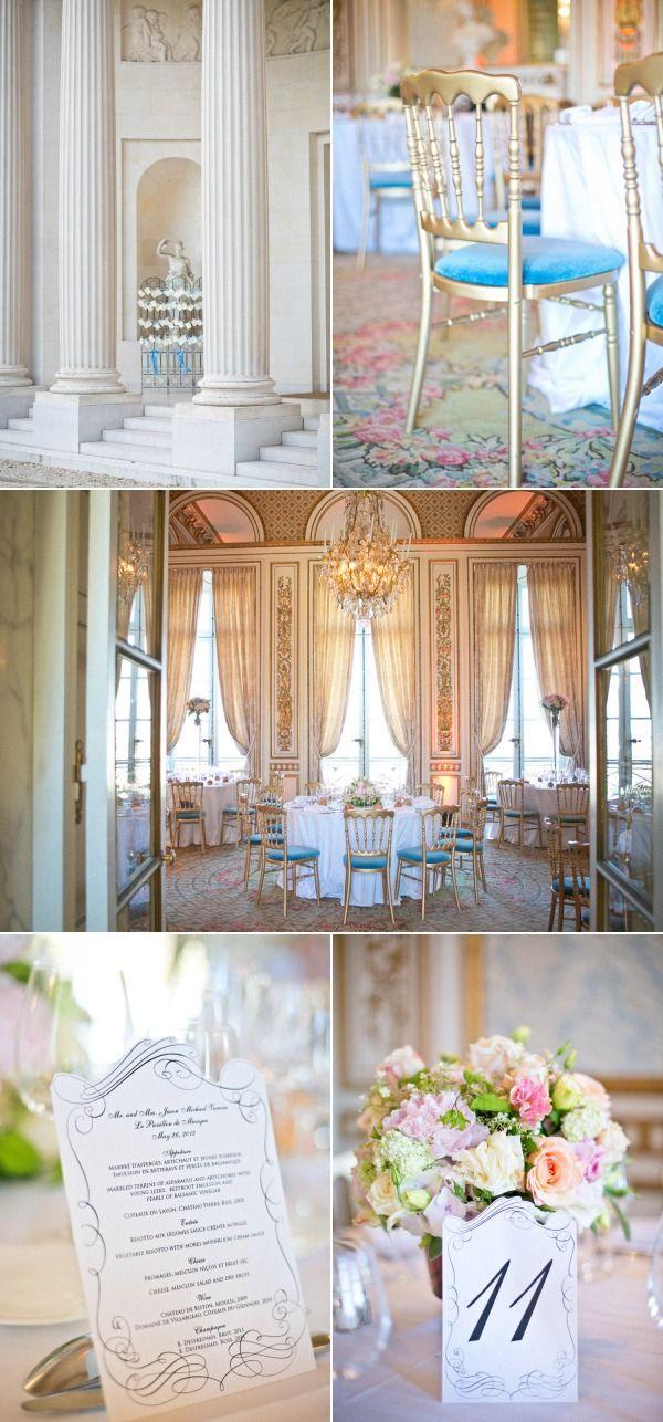 French Wedding from One and Only Paris Photography + Rendez-Vous in Paris | Style Me Pretty Pavilion de musique louvecienes
