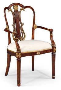 Empire style furniture. High end dining chair