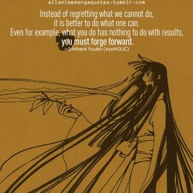 Image result for xxxholic quotes
