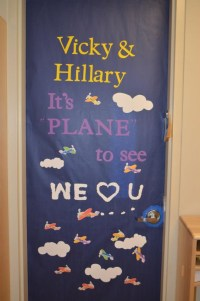 Teacher Appreciation: Door decorations | Room Mom | Pinterest