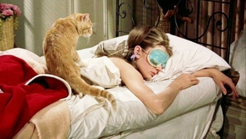 Holly Golightly and apartment--Breakfast at Tiffany's