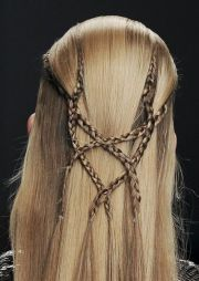 intricate medieval style braid