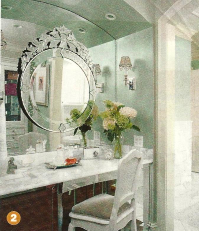 venetian mirror bathroom  BathroomRenovationSydney