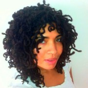curly locs hair