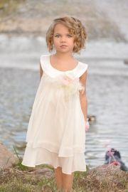 vintage flower girl dress beach
