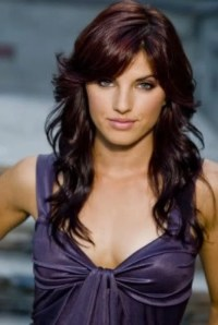 Dark Red Violet Brown Hair Color | Hair and Beauty | Pinterest
