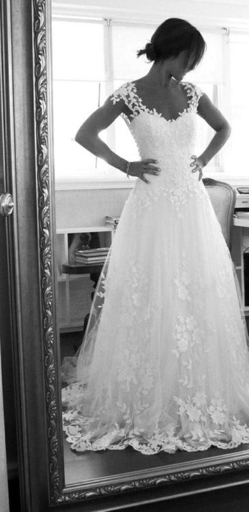 great wedding dress...love