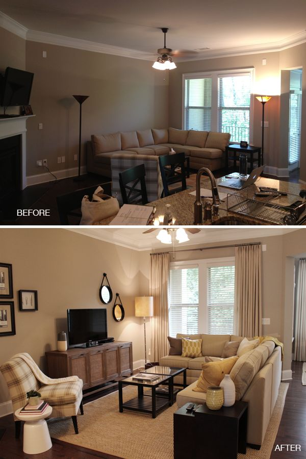 living room furniture layout with corner fireplace curtains designs for arranging a brooklyn berry this amazing transformation uses the existing to transform into something that works via blulabelbungalow