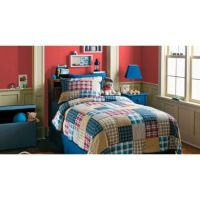 Circo Boy Plaid Quilt Set