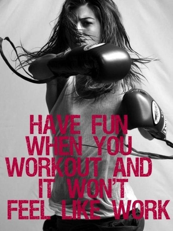 My goal is to make people enjoy exercising.