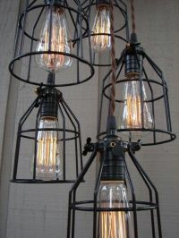 industrial style lighting | Industrial Inspired Light ...