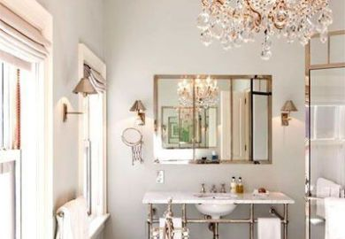 Vintage Glam Bathrooms