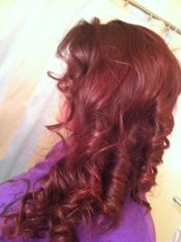 Sangria Hair Color | Short Hairstyle 2013