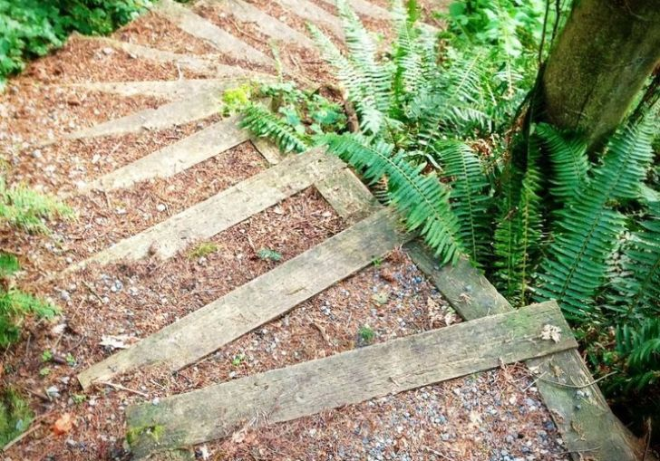 How To Build Steps On A Steep Hill