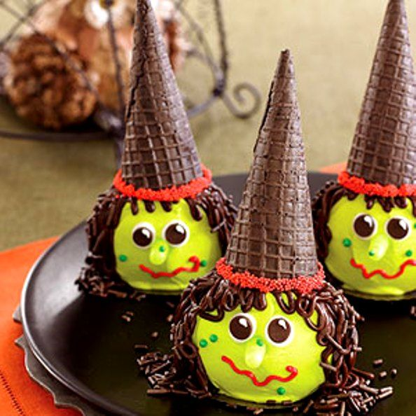 Halloween Witchy Cup Cakes, 46 Awesome Halloween Recipes