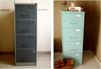 paint a filing cabinet | crafty fun | Pinterest