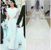 The gallery for --> Kim Kardashian Wedding Dress Givenchy ...