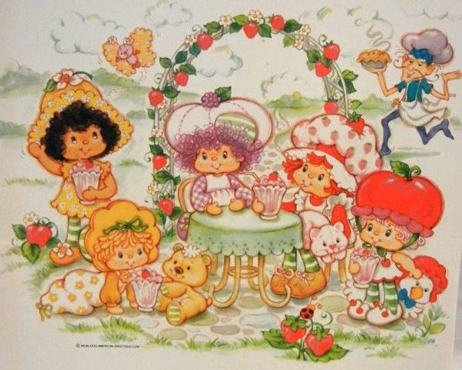 strawberry shortcake images clipart | Strawberry Shortcake Clip Art - Orange Blossom @ Toy-Addict.com