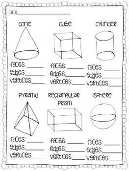 Solid Shapes {A common core geometry unit}