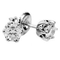 Diamond Earrings: Tiffany And Co Diamond Stud Earrings