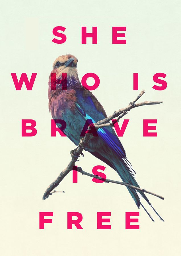 She who is brave is free http://modere.com/smile