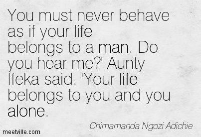 Chimamanda Ngozi Adichie Quotes. QuotesGram