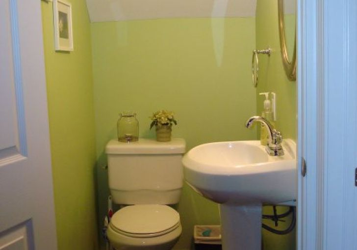 Tiny Half Bathroom