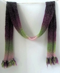 Circle Loom scarf #1 | Things I Actually Made | Pinterest