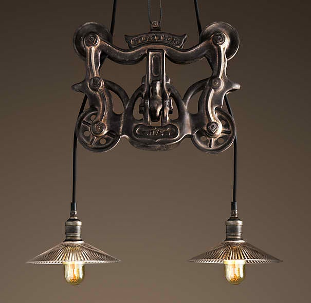 Trolley Pendant By Restoration Hardware  LIGHTING