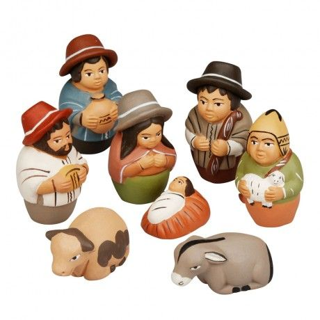Peruvian Hats Nativity