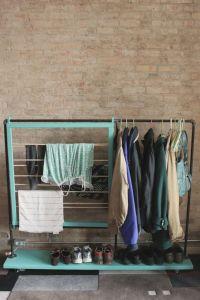 DIY: coat rack | Closet...... | Pinterest