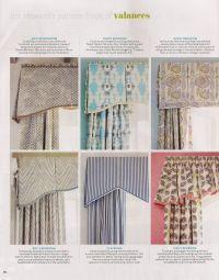 valance styles | Window Treatments | Pinterest