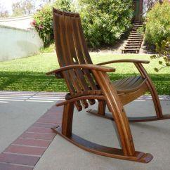 Oak Rocking Chair Plans Coleman Chairs Walmart Barrel Adirondack Get Woodworking Tools Guide Wood Shop Wine