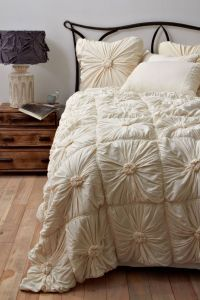 Rosette Quilt - anthropologie.com | Dream Home | Pinterest