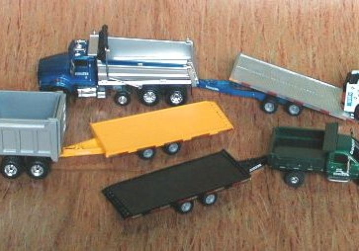 1 64th Scale Trucks