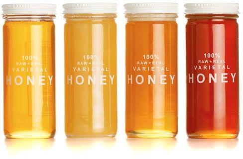 Raw honey.