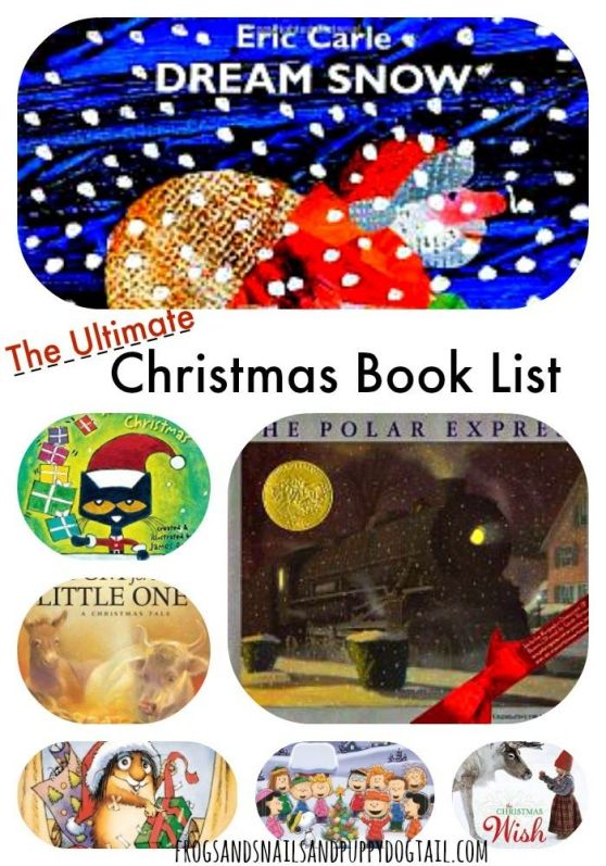 The Ultimate Christmas Book List for Ages 2-6 on FSPDt #childrenbooklist