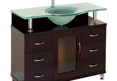 Accara 36 Bathroom Vanity With Drawers Espresso W