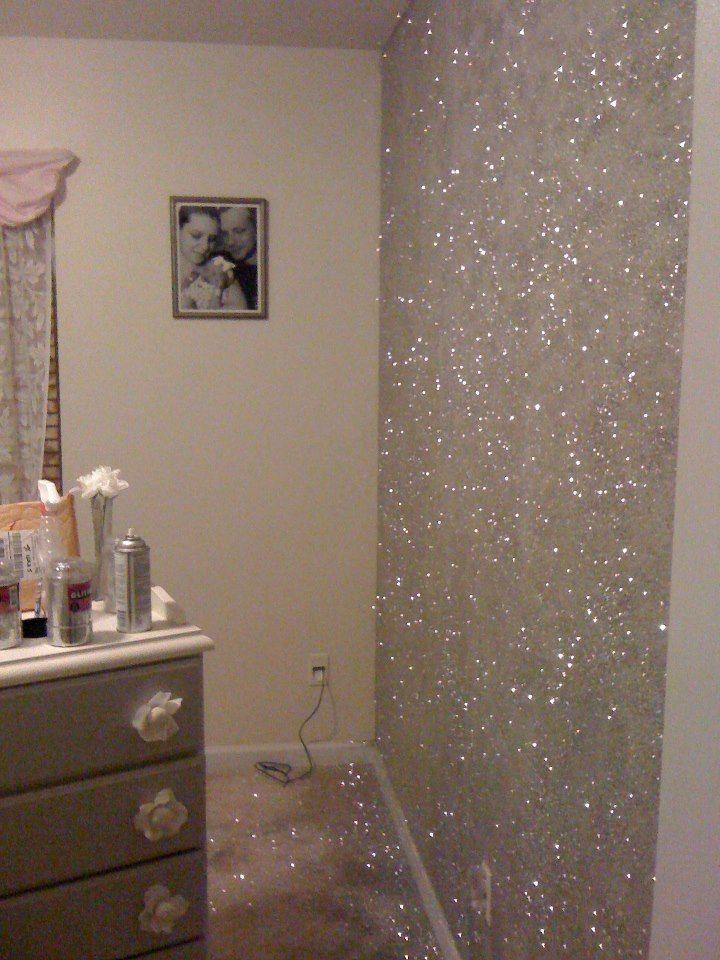 Glitter wall paint! How do I do it?