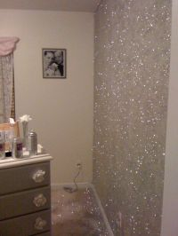 Glitter wall paint! How do I do it?