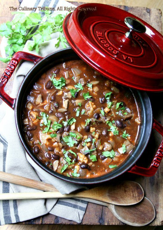 Mushroom Chili - Vegan