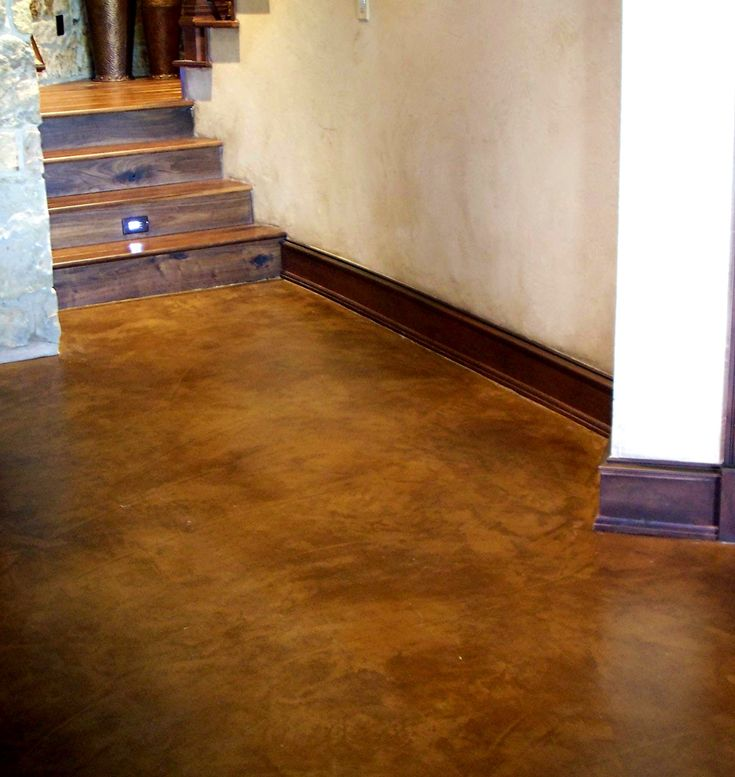 Acid Washed Concrete Floors