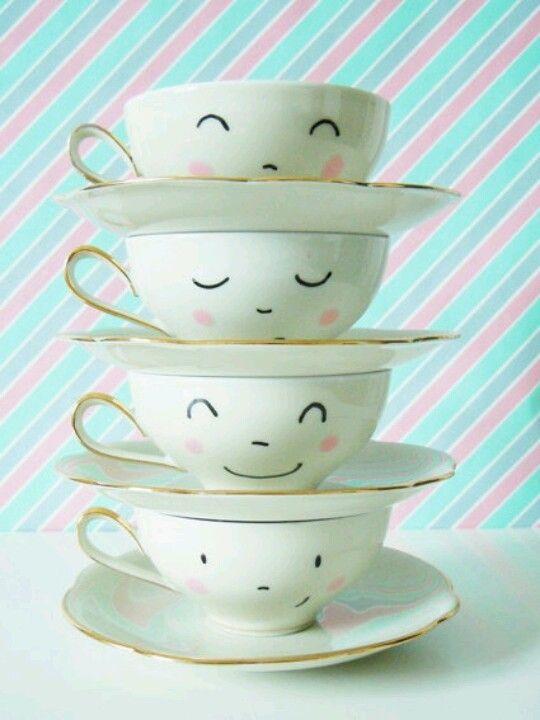 Cute tea cups!