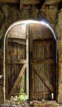 old barn doors | DOORS | Pinterest