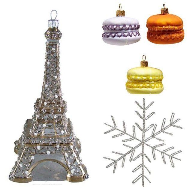 macaroon ornaments.