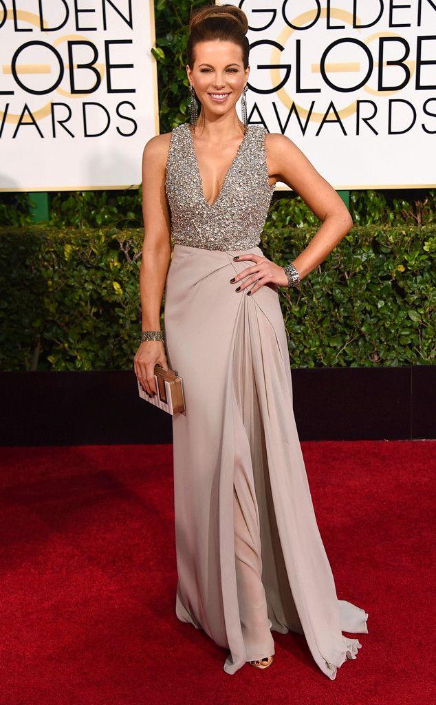 Kate Beckinsale from 2015 Golden Globes Red Carpet Arrivals | E! Online