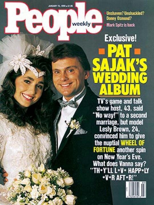 Pat Sajak Wife Stacy Ferguson