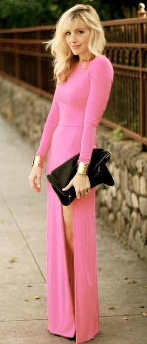 Maxi dress, beautiful color